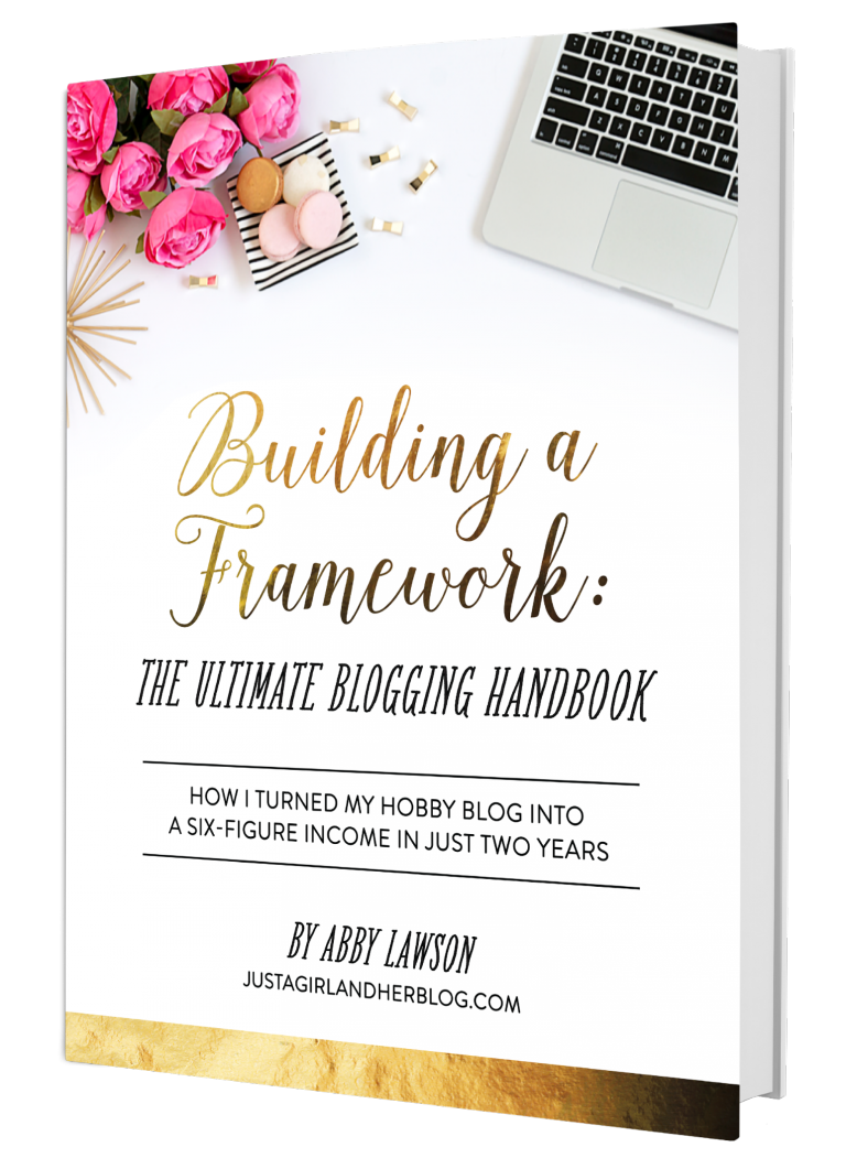 Need help starting a blog? Building a Framework is the ultimate guide to everything you need to know! (Affiliate link)